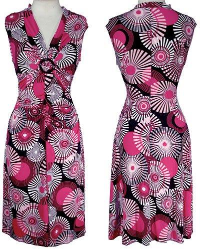La Belle Stretch Kaleidoscope Dress