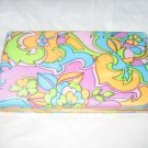 60's MELE Flower Power Jewelry Case