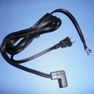 Power Cord for Singer 500, 503, 600, 603, 604 Sewing Machines - NEW