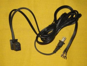 Power Cord for Singer 620 625 626 628 648 Series Sewing Machines