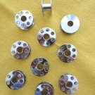 10 Metal Bobbins - Elna Sewing Machines - NEW