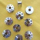 10 Metal Bobbins - Elna Sewing Machines - NEW