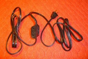 Power Cord for Singer Featherweight 221, 15-90, Other Singer Sewing Machines - NEW