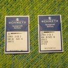 TWO 10-Packs of Schmetz 206x13 Needles, Sizes 12 & 14