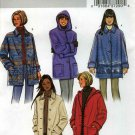 Butterick Pattern 4029; Jacket with Hood or Collar, Easy, Sizes 12 14 16 - UNCUT