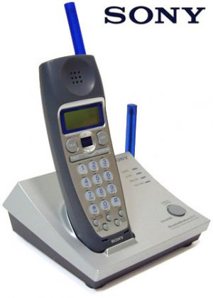 SONY 2.4GHz CORDLESS PHONE