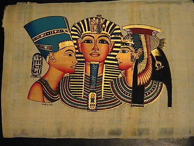 King Tut & Cleopatra and Nefertiti