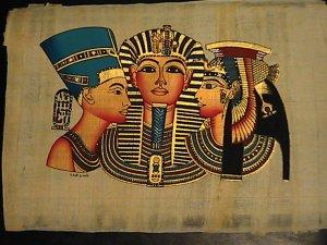 King Tut & Cleopatra and Nefertiti