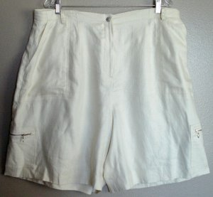 NEW W/ TAGS RALPH LAUREN LINEN SHORTS SIZE 18W