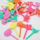 Pack of 50pcs Bento Mini Food Pick Fruit Theme