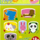 Set of 18pcs Plastic Food Divider Animal Design