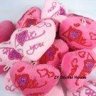 Mini Heart Shape I Love You Plush