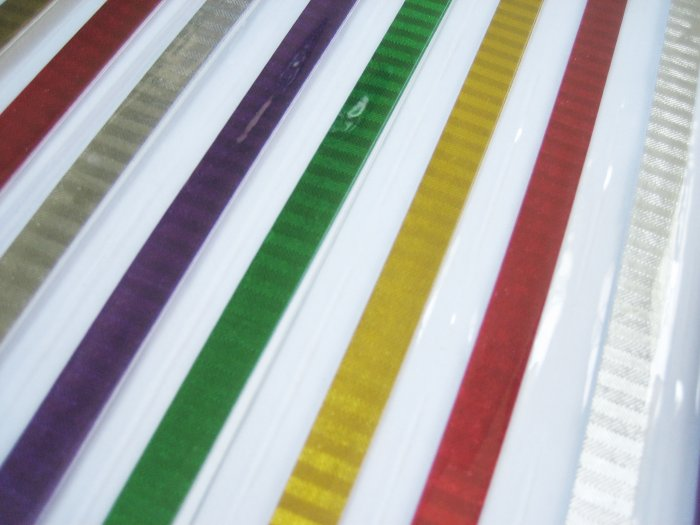80 strips Mix Colour Laser Effect Origami Folding Lucky Star Paper Strips 80A