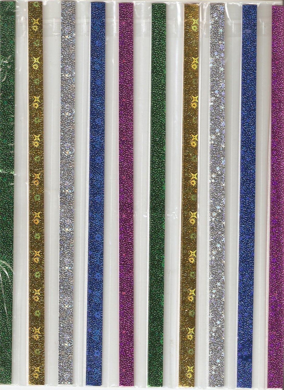 80pcs STARRY STARRY NIGHT design Origami Folding Lucky Star Paper Stripe