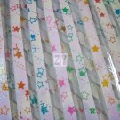 60 strips Shooting Star on Bright Tone Pearlescent Mix Colour Origami Folding Lucky Star Paper