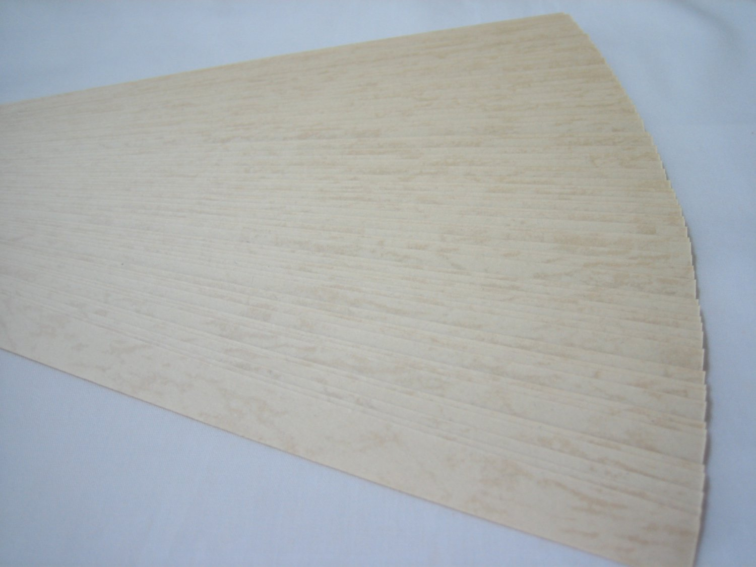 100 strips Embossed Pale Beige Origami Folding Lucky Star Paper Strips