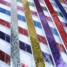 100 strips Colour Pearlescent Mix Colour Origami Folding Lucky Star Paper Strips