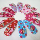 Wholesale 60pcs Strawberry Girl Snap Hair Clip 4.5cm (n/hole)