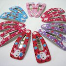 Wholesale 60pcs Rabbit Design Girl Snap Hair Clip 4.5cm (head_hole)