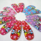 Wholesale 60pcs Minnie Girl Snap Hair Clip 4.5cm (roses_nhole)
