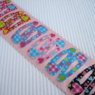 Wholesale 60pcs Love Heart Girl Snap Hair Clip 4.5cm (weave_hole)