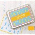 DIY Korean Foam and Rubber Stamp Little Kid 12pcs set in Tin Box