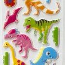 OK050d Animal Pre-Historic Dinosaur Small Puffy Sticker