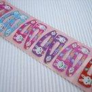 Wholesale 60pcs Rabbit Design Girl Snap Hair Clip 4.5cm (happy cloud_hole)