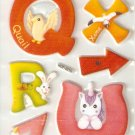Learning R-Z Small Puffy Sticker #H01b
