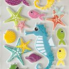 Under the Sea Small Puffy Sticker #H02b