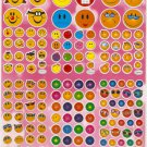 10 sheets #TM0033 SMILEY FACE Removable A4 Sticker