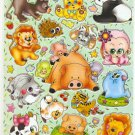 10 sheets Zoo Animal Sticker #C201