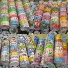 2000rolls x 2.5m Assorted Design Cute Kawaii Korean Deco Adhensive Tape Wholesale