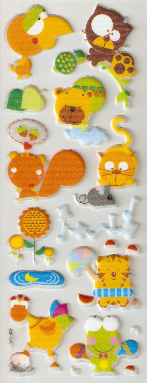 Small Puffy Sticker #H07b
