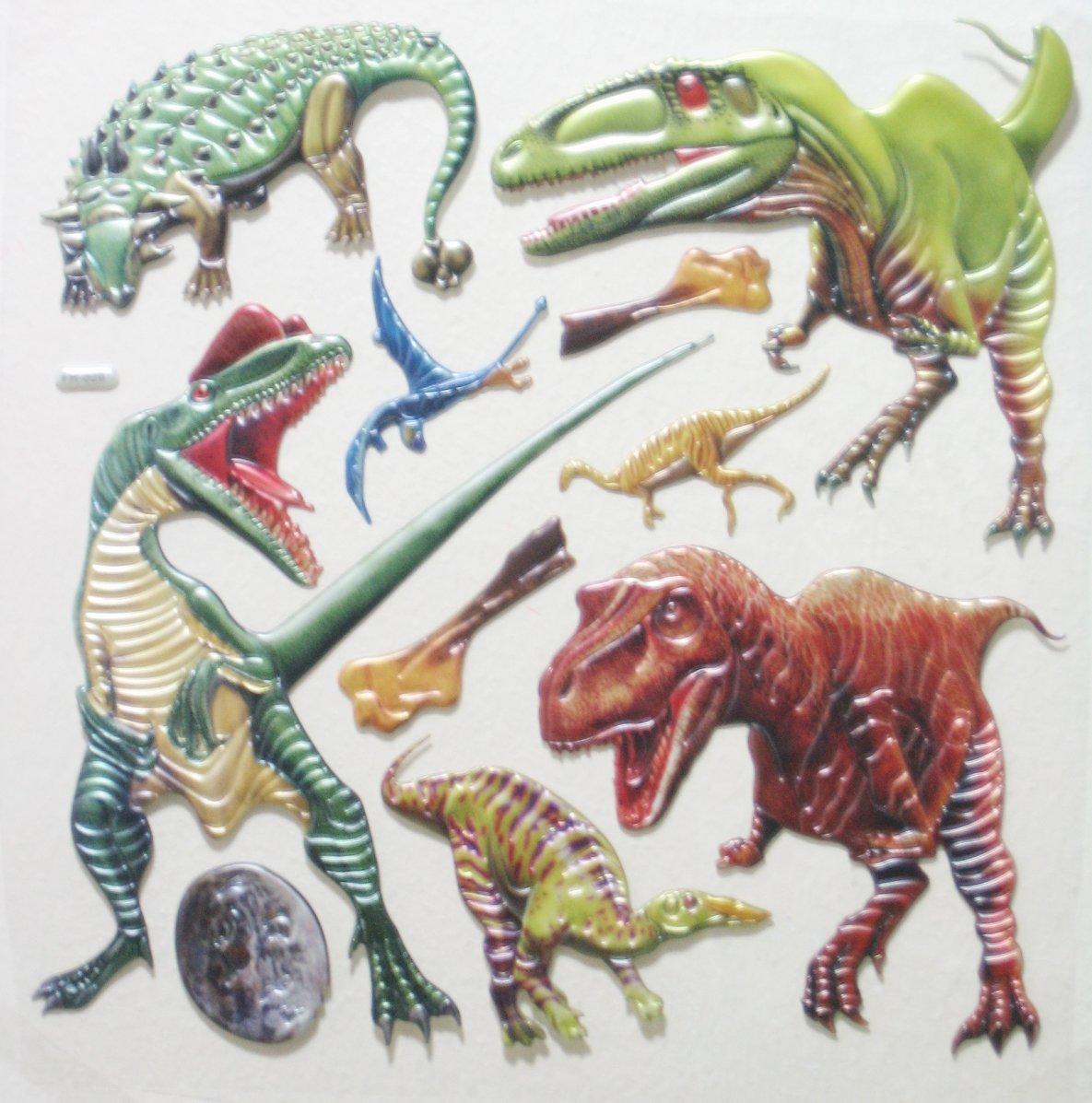 Big 3D Dinosaur Wall Sticker Kid Room Decoration #FH009