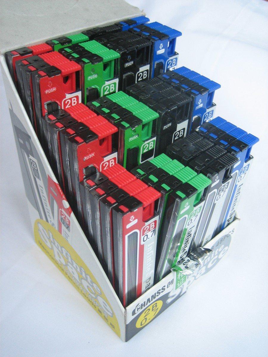 Wholesale 48 tubes 0.7mm Mechanical Pencil Refil Lead 75mm