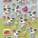 GZA1003 Puppy World Mini Puffy Sticker FREE SHIPPING