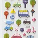 315F Transport Car Mini Puffy Sticker FREE SHIPPING