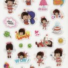 DON1020 Love Mode Mini Epoxy Sticker FREE SHIPPING