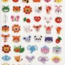 KDT1029 Animal Head Mini Epoxy Sticker FREE SHIPPING