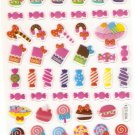 KDT1034 Candy Macaroon Lollipop Mini Epoxy Sticker FREE SHIPPING
