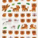 KDT1037 Animal Tigers Mini Epoxy Sticker FREE SHIPPING