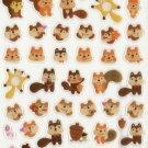 KDT1045 Animal Squirrels Mini Epoxy Sticker FREE SHIPPING
