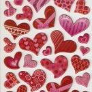 TP023 Love Heart Mini PuffyS ticker FREE SHIPPING