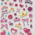 HAP1023 Princess & Gilrs Mini Puffy Sticker FREE SHIPPING