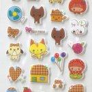 CHA1017 Riding Hood Girls & Pets Mini Puffy Sticker FREE SHIPPING