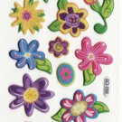 SO 056 Flowers Cars Mini Sticker FREE SHIPPING