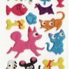 SO 068 Dogs & Cats Favourite Mini Sticker FREE SHIPPING