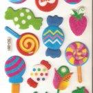 SO 061 Loollipop Mini Puffy Sticker FREE SHIPPING