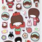 TMP1006 Japaneses Komino Girl Mini Bronzing Sticker FREE SHIPPING